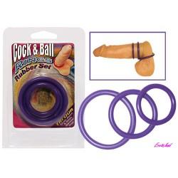 Кольца для пениса Cock & Ball