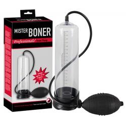 Помпа для пениса Mr. Boner (чёрная) 25см