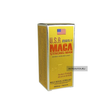 MACA USA STRONG MAN ПРЕПАРАТ ДЛЯ ПОТЕНЦИИ