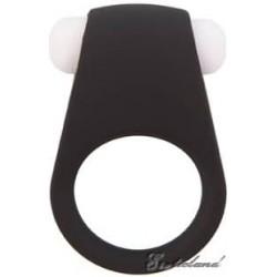 Эрекционное кольцо LIT-UP SILICONE STIMU RING 4 BLACK (Грас. Эре...