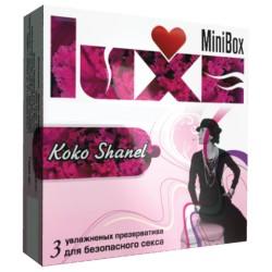 "Презервативы Luxe Mini Box ""Коко Шанель"""