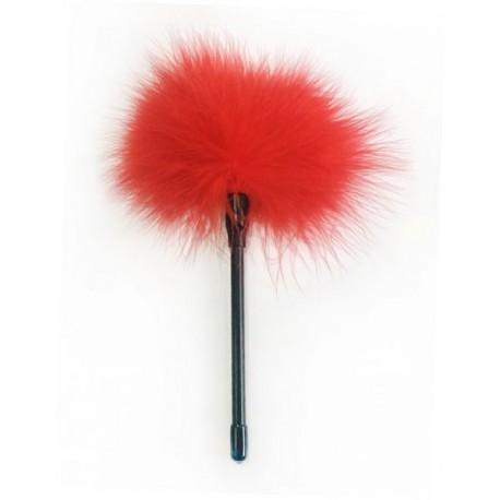 Перышки для шалостей Feather Tickler, red